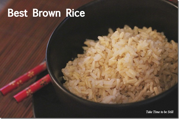 best brown rice