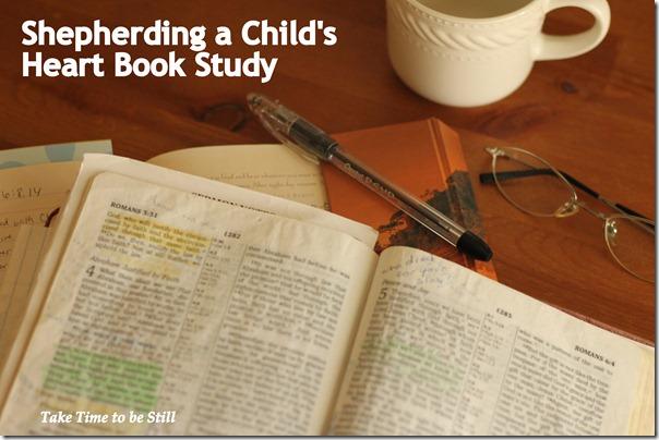 shepherding a childs heart study