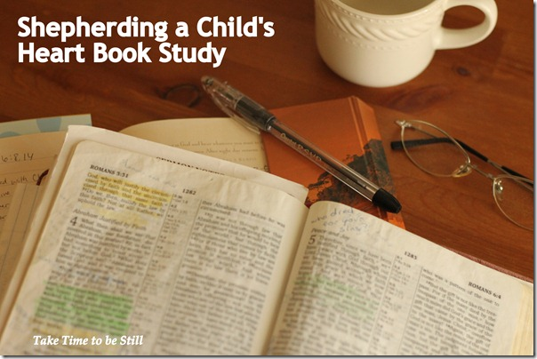 shepherding a childs heart study